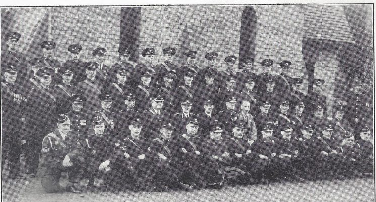 Gloucester Rural  Division Newent Section. (Gloucestershire Police Archives URN 7023)
