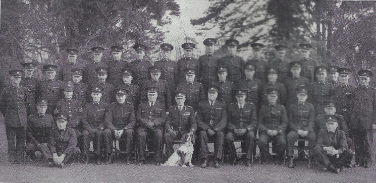 Dursley Division Whitminster Section. (Gloucestershire Police Archives URN 7038)