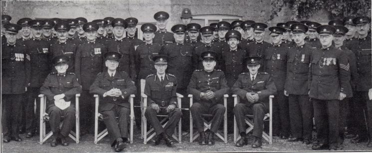 Moreton in Marsh Division Bourton on the Water Section. (Gloucestershire Police Archives URN 7043)
