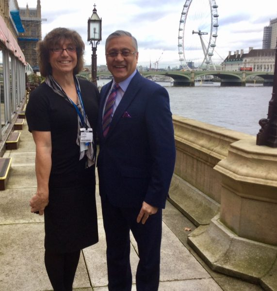 Bee Bailey proud to be at House of Lords with Lord Patel for the launch of 'inside gender identity' meeting the health & social care needs of trans people in the Criminal Justice System. (Gloucestershire Police Archives URN 7824)