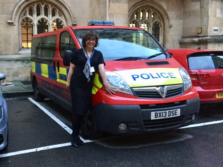 Bee Bailey Bee met with various ministers and will now assist on the New Gender Recognition Report with Westminster. (Gloucestershire Police Archives URN 7825)