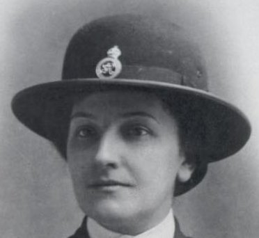 Marion Sandover Joined  6/5/1918 pensioned 29/5/1948 (Gloucestershire Police Archives URN 7862)