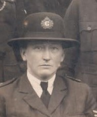 Ethel Gale Joined 24/6/1918 retired ill health 12/7/1929 First female Sergeant promoted 1/2/1921. Married Montague Millard in 1929 he served with Gloucestershire Constabulary between 1886 and 1927. (Gloucestershire Police Archives URN 7854)