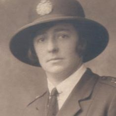 Edith Mabel Caroline Lodge. Thought to be the first police woman to marry and complete her service in Gloucestershire.