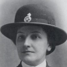Marion Sandover. First woman to join Gloucestershire Police 6th May 1918.