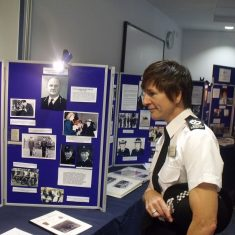 The Chief Constable finding out about Force history. (Gloucestershire Police Archives URN 7984)