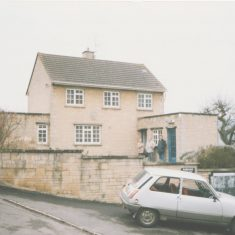 Uley Police Station 1990 (Gloucestershire Police Archives URN 8038)