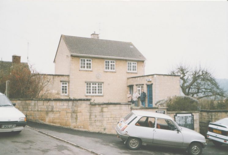 Uley Police Station 1990. (Gloucestershire Police Archives URN 8038)