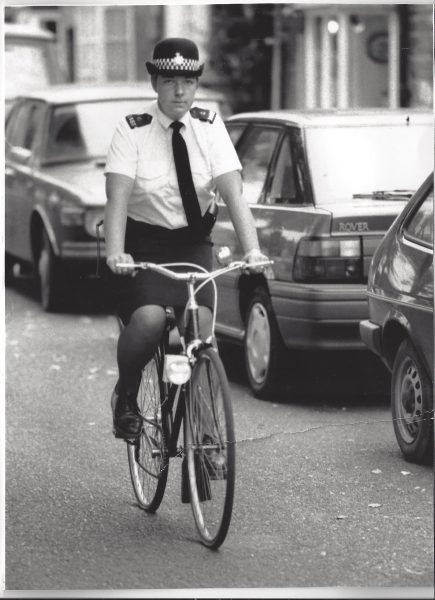 Woman Police Constable Carole Paxford. (Gloucestershire Police Archives URN 8165)