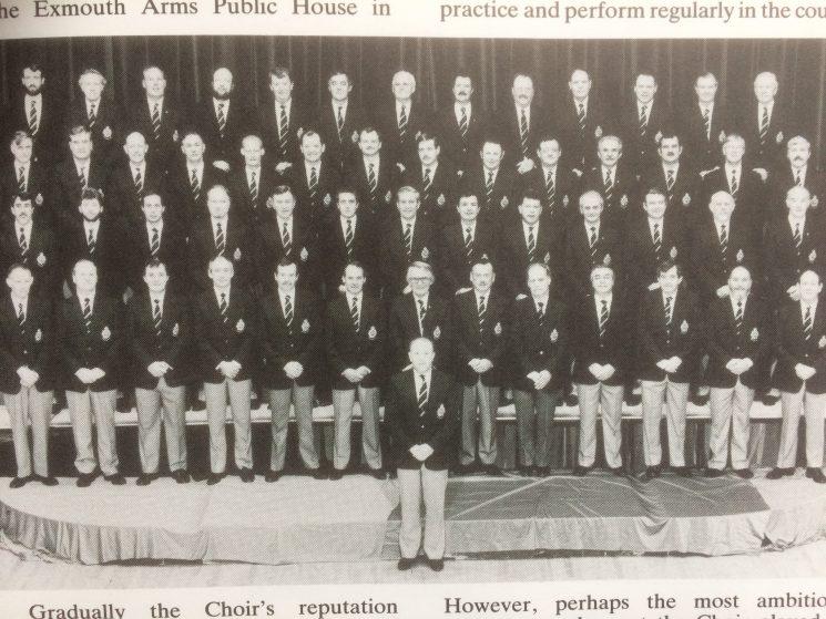Police Choir in Blazers and slacks.