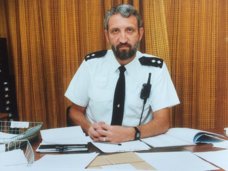 Inspector Wayne Freeth-Selway at Stroud 1998 -30 years service-Pre-Retirement. You have permission top use my 1968 Chief Constable's album photo and this one is me as an Inspector at Stroud just before I retired in 1998.