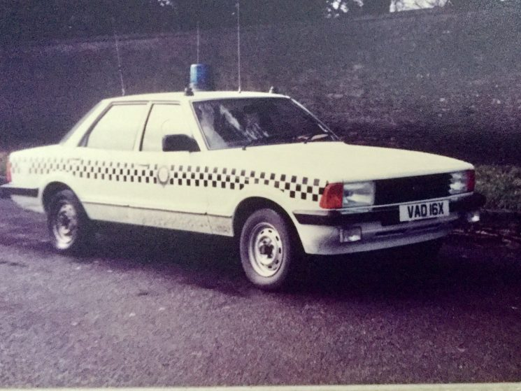 Cirencester Area Car 1983. (Gloucestershire Police Archives URN 8244) | Photograph from Derek Freeman