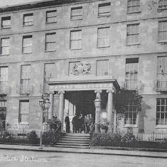 Cheltenham Police Station - John Dower House. (Gloucestershire Police Archives URN 8195)