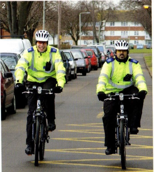 Officers from Hesters Way Safer Community Team 2006-7. (Gloucestershire Police Archives URN 8364)