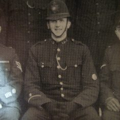 Police Constable John Adshead. (Gloucestershire Police Archives URN 8478)