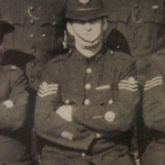 Sergeant 326 Lawson Archer. (Gloucestershire Police Archives URN 8482)