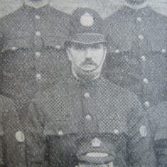 Police Constable Edward Aston of Lechlade 1907 (Gloucestershire Police Archives URN 8483)