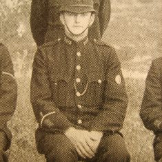 Police Constable 133 Harold Bayliss. (Gloucestershire Police Archives URN 8493)