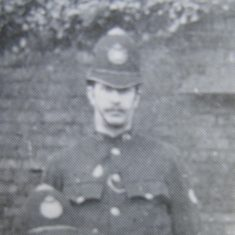 Police Constable 26 John Beere. (Gloucestershire Police Archives URN 8495)
