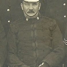 Chief Superintendent James Biggs Training Department 1920. (Gloucestershire Police Archives URN 8496)