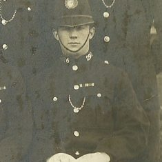 Police Constable 296 Albert Bleaken. (Gloucestershire Police Archives URN 8497)