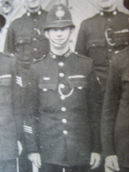 Police Constable 296 Albert Bleaken awarded Silver Braid for rescuing a dog from a quarry on 29th January 1926. He was also awarded £3 and a medal from Canine Defence League, Dumb Friends League and National Canine  Defence Society. (Gloucestershire Police Archives URN 8498)