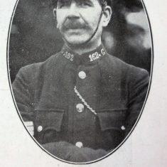Police Sergeant 162 Jacob Braybrooks. (Gloucestershire Police Archives URN 8501)