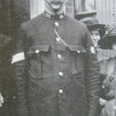 Police Sergeant  28 John Brooks 1912. (Gloucestershire Police Archives URN 8503)
