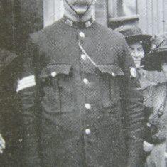 Police Sergeant  28 John Brooks 1912. (Gloucestershire Police Archives URN 8503)