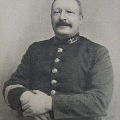 Police Sergeant 125 John Thomas Browning. (Gloucestershire Police Archives URN 8506)