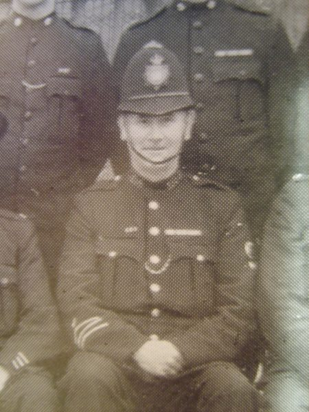 Police Constable 188 John Buckle awarded  Silver Braid on 24th July 1943 for Gallant action in descending a concealed well and rescuing a boy. Also awarded £5 as well as a Bronze medal and certificate from Royal Humane Society. (Gloucestershire Police Archives URN 8508)