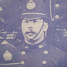 Police Constable 40 Charles Bull. (Gloucestershire Police Archives URN 8509)