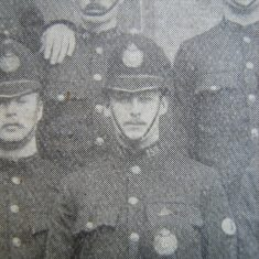 Police Constable Eldred Bullock Cirencester 1907. (Gloucestershire Police Archives URN 8510)