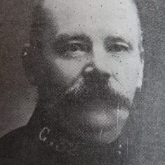 Police Constable 32 Frederick Carpenter. (Gloucestershire Police Archives URN 8514)