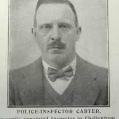 Inspector Carter. (Gloucestershire Police Archives URN 8415)
