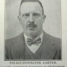 Inspector Carter (Gloucestershire Police Archives URN 8415)