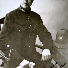 Police Constable 293 Carter. (Gloucestershire Police Archives URN 8516)