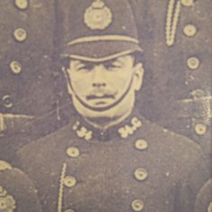 Police Constable 34 James Clifford. (Gloucestershire Police Archives URN 8517)