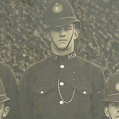 Police Constable 213 John Clarke. (Gloucestershire Police Archives URN 8520)
