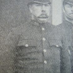 Police Constable Cleaveley South Cerney 1907. (Gloucestershire Police Archives URN 8521)