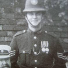 Police Sergeant 121 John Coates (Gloucestershire Police Archives URN 8523)