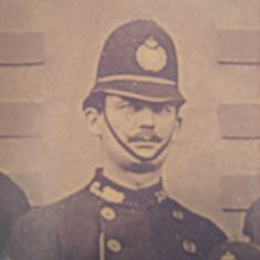 Police Constable 232 Charles Coldicott. (Gloucestershire Police Archives URN 8524)