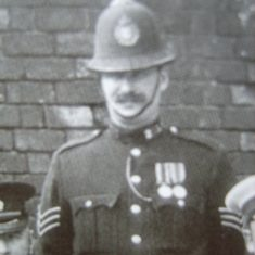 Police Sergeant John Coldicutt. (Gloucestershire Police Archives URN 8525)
