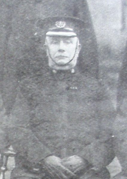Chief Superintendent Edward Cooke 1911. (Gloucestershire Police Archives URN 8532)