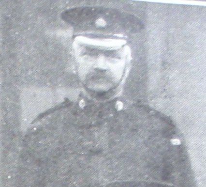 Superintendent Alfred Cooke. (Gloucestershire Police Archives URN 8533)