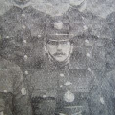 Police Constable 21 Alfred Durant Lechlade 1907. (Gloucestershire Police Archives URN 8550)