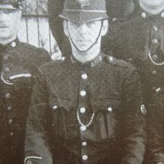 Police Constable 407 Francis Emerson. (Gloucestershire Police Archives URN 8555)
