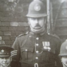 Sergeant Edmund Ferryman. (Gloucestershire Police Archives URN 8559)
