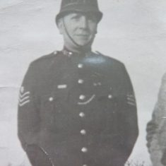 Sergeant  143 Fitzroy Frederick Taylor awarded Silver Braid on 2nd November 1939 for gallant action in saving life from fire also awarded a Medal from Society of Protection of Life. (Gloucestershire Police Archives URN 8560)