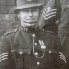 Police Sergeant 137 Eugene Freeman. (Gloucestershire Police Archives URN 8563)
